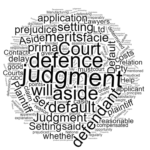 How to set aside a default judgment in Queensland Stonegate Legal