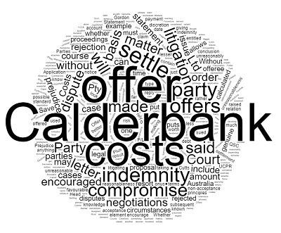 Calderbank Offers Settling Litigation Early
