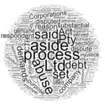 abuse of process set aside a statutory demand