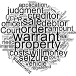 Enforcement Warrant for Seizure and Sale of Property in Queensland