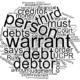 Enforcement Warrant for Redirection of Debts