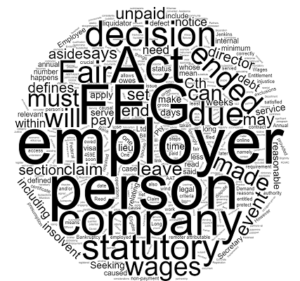 Unpaid Wages and the Fair Entitlements Guarantee
