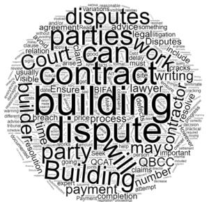 Building disputes in Queensland lawyer solicitor Brisbane Sunshine Coast